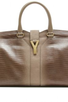 Yves Saint Laurent Medium Cabas Chyc Eastwest Leather Bag - Lyst