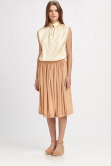 Chloé Silk Dress - Lyst