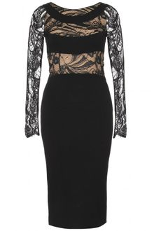 Emilio Pucci Lace Trimmed Dress - Lyst