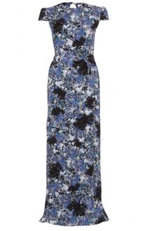 Erdem Aurelia Floral Printed Dress - Lyst