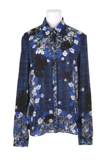 Erdem Shirt in Silk Crepe - Lyst