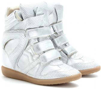Isabel Marant Bird Wedge Sneakers - Lyst