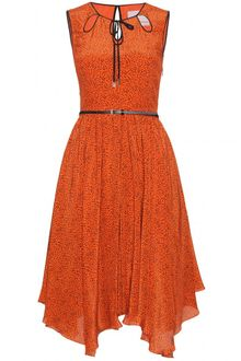 Jason Wu Vallonia Silk Print Dress - Lyst