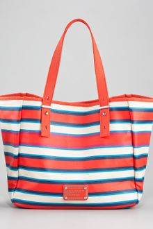 Marc By Marc Jacobs Stripey Jacobsen Tote - Lyst