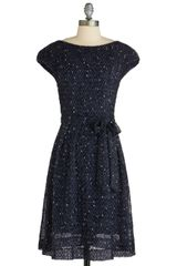 Modcloth Next Stop Soho Dress in Black - Lyst
