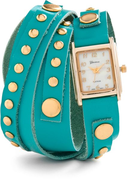 Modcloth Wrapsody in Blue Watch in Blue - Lyst