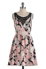 ModCloth A Lace To Call Home Dress - Lyst