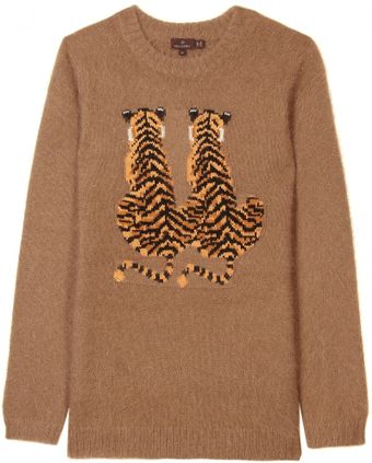 Mulberry Pullover with Tiger Motif - Lyst