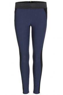 Stella McCartney Two Tone Stretch Trousers - Lyst