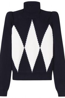 Stella McCartney Two Tone Knit Pullover - Lyst