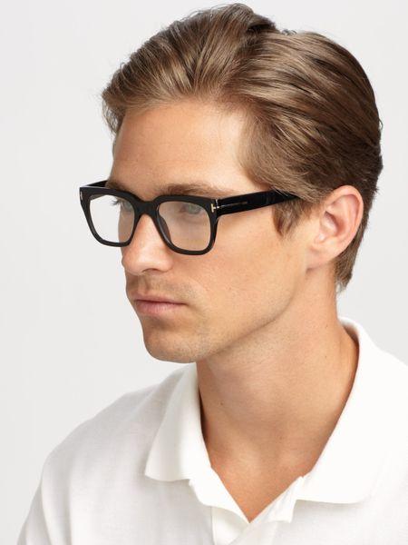 Tom Ford Plastic Optical Frames In Black For Men Lyst