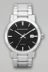 Burberry Automatic Stainless Steel Watch - Lyst