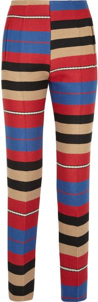 Carven Striped Ottoman Pants - Lyst