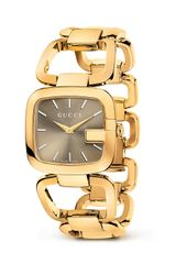 Gucci G 18k Yellow Gold Pvd Bracelet Watch 32mm - Lyst