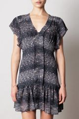 Isabel Marant Nocky Georgette Dress - Lyst