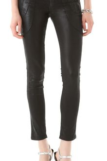 James Jeans Polo Zip Super Skinny Jeans - Lyst