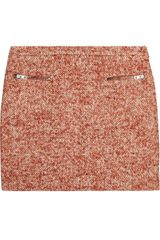 Joseph Tweed Mini Skirt - Lyst