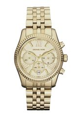 Michael Kors Midsize Golden Lexington Chronograph Stainless Steel Watch - Lyst