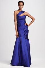 Ml Monique Lhuillier Oneshoulder Sweetheart Gown - Lyst