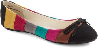 ModCloth Hatch A Color Scheme Flat - Lyst