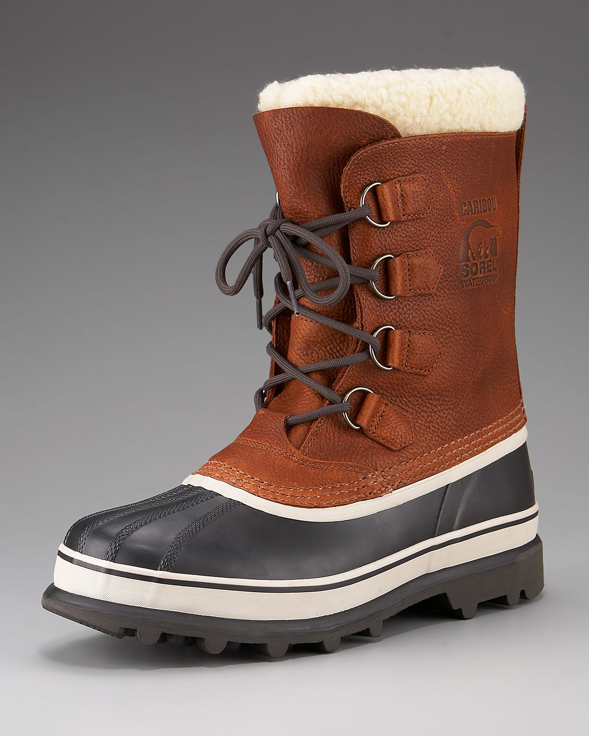 SOREL Caribou WL Boots for Men Brown