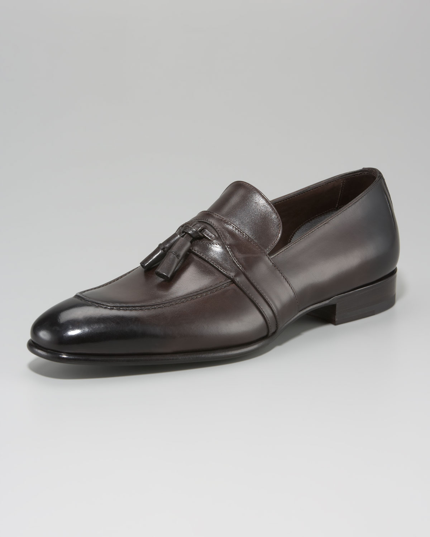 46a7392ed48 Lyst - Tom Ford Adney Tassel Loafer in Brown for Men