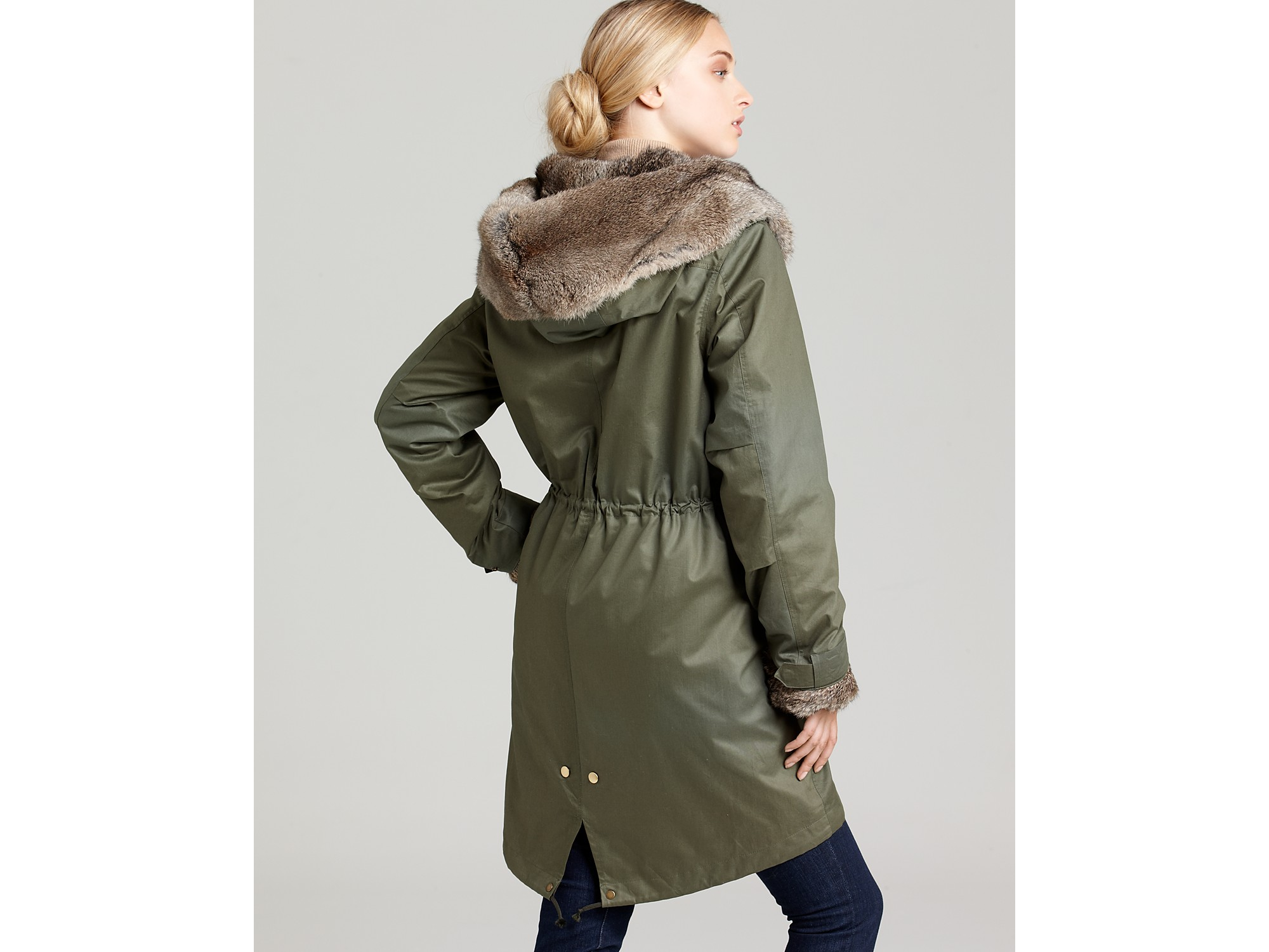 woolrich woolrich john rich bros eskimo jacket in green lyst. Black Bedroom Furniture Sets. Home Design Ideas