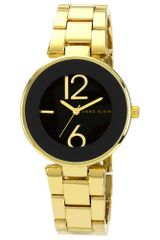 Anne Klein Womens Gold Tone Adjustable Bracelet 34mm Ak - Lyst