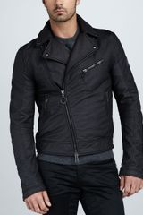 Belstaff Coated Motorcycle Jacket - Lyst