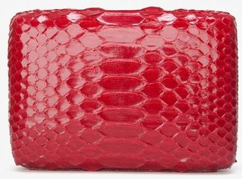 Preorder Oval Box Clutch Red