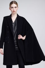 Jean Paul Gaultier Asymmetric Cape Coat - Lyst
