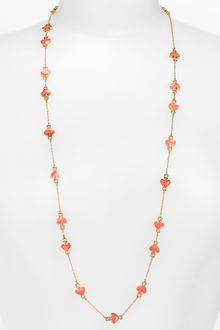 Kate Spade  'Spade to Spade' Station Necklace - Lyst