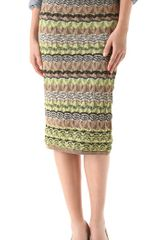 M Missoni Pointelle Skirt - Lyst