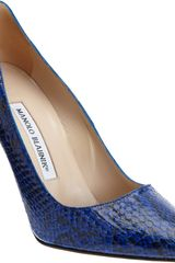 Manolo Blahnik Bb Pumps - Lyst