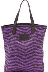 Marc By Marc Jacobs Packables Zora Stripe Shopper Tote - Lyst
