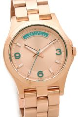 Marc By Marc Jacobs Baby Dave Watch in Pink (rose) - Lyst