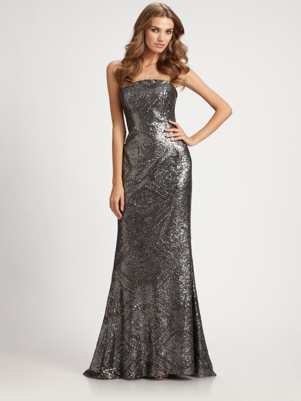 Gun Metal Gown