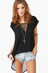 Nasty Gal Messes Tee