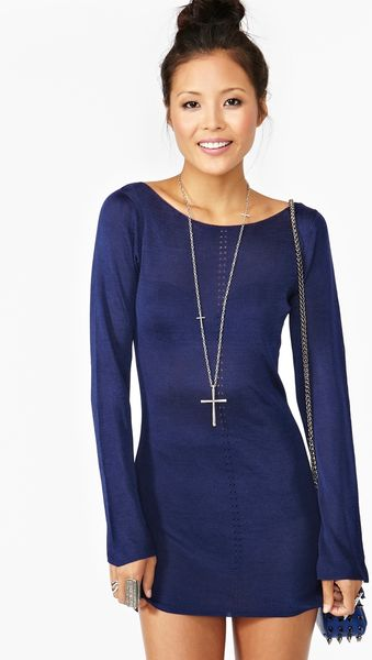 Nasty Gal Tara Knit Dress - Lyst
