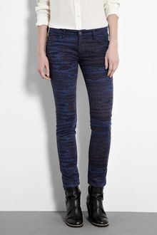 See By Chloé Arizona Printed Skinny Jean - Lyst