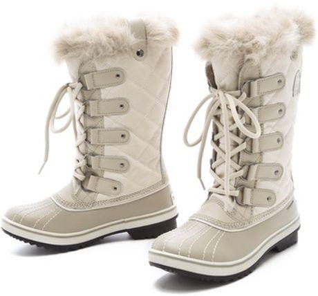 Sorel Tofino Waterproof Boots In White Lyst