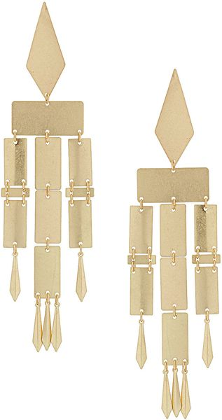 Topshop Articulated Drop Earrings - Lyst