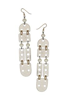 Topshop Domino Drop Earrings - Lyst