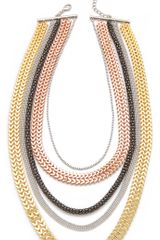 Tuleste Market Multi Strand Necklace - Lyst