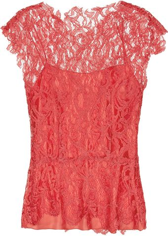 Philosophy di Alberta Ferretti Lace Top - Lyst