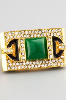 Rachel Zoe Rectangular Ring  - Lyst