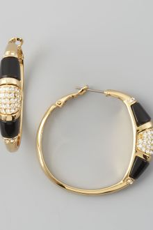 Rachel Zoe Paveresin Hoop Earrings  - Lyst