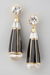 Rachel Zoe Teardrop Earrings - Lyst