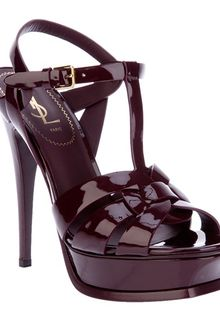 Yves Saint Laurent Tribute Sandal - Lyst
