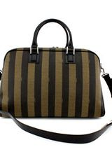 Fendi Mens Borsa Boston Duffle in Green for Men (tobacco) - Lyst